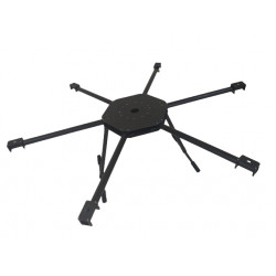 1200 Hexacopter Frame With Foldable Arm Made Of Carbon Fiber