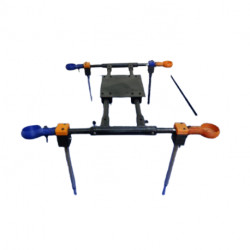 XBotics H quadcopter frame (Aluminium & Glassfiber) - Multirotor Frames - Xbotics