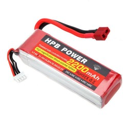 Lipo 11.1v 2200  mah - Battery -  Drone - Xbotics