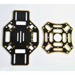 450 Quadcopter frame Top & Bottom plates - Multirotor Parts - Xbotics
