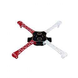 450 size plastic quadcopter frame with integrated PCB - Multirotor Frames -Xbotics