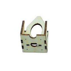 Plywood motor mount for Fixed Wing Parts