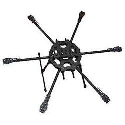 Tarot 680 Hexacopter Folding 3K Carbon Fiber Frame - Hexacopter Frames  - Xbotics