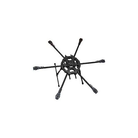 Tarot 680 Hexacopter Folding 3K Carbon Fiber Frame - Hexacopter Frame - Xbotics