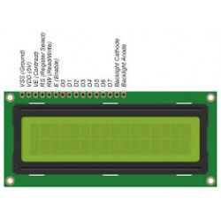 16*2 LCD - Electronic supplies - Xbotics