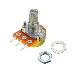 10K ohm potentiometer Large - Potentiometers - Xbotics