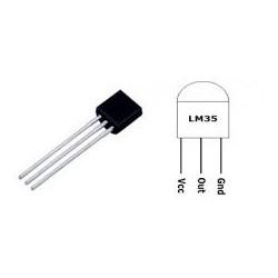 LM35 Temperature Sensor - Temperature Sensors - Xbotics
