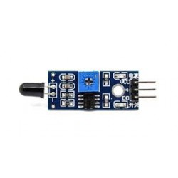 Fire/Flame sensor (1m range) - Temperature & Humidity Sensors - Xbotics