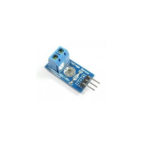 Voltage Detection Sensor Module 25V - Current & Voltage Sensors - Xbotics