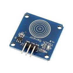 1 Channel TTP223 capacitive touch module - Sensors - Xbotics