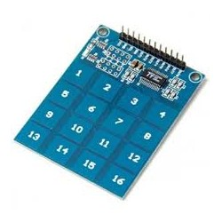 TTP229 - 16 Channel Capacitive Touch Sensor Module - Sensors - Xbotics