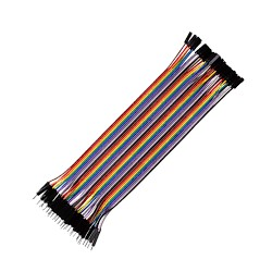 Jumper Wire M2F 40 Pcs - Electronic Supplies - Xbotics