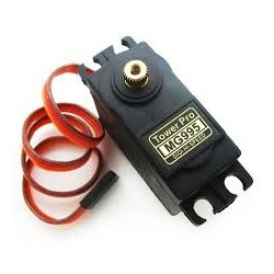 Tower Pro MG995 Metal Gear Servo Motor (360 Degree Rotation)  - Motors &Motor Drivers - Xbotics