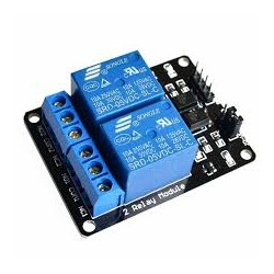 2 Channel 12V Relay - Relay - Xbotics