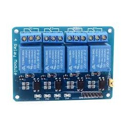 4 Channel 12V Relay - Relay - Xbotics