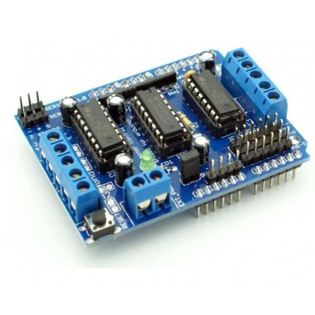 Motor Driver Shield for Arduino - Breakout Boards - Xbotics