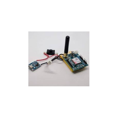 SIM800C TTL Modem, Battery Powered - Wireless - Xbotics
