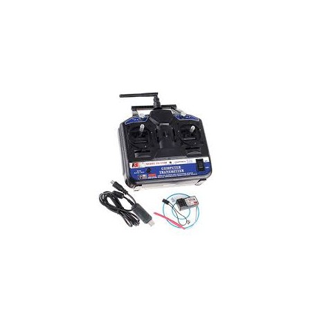 Fly Sky FS-CT6B 6ch 2.4GHz Transmitter & Receiver - Remote - Xbotics