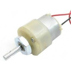 100 RPM - 12V Center Shaft DC Geared Motor - Motors - Xbotics