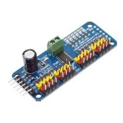 16 Channel 12-bit PWM/Servo Driver-I2C interface-PCA9685 - Control Boards - Xbotics