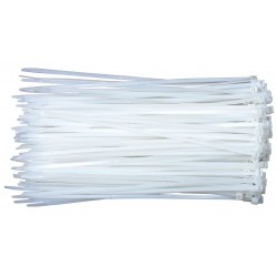 200mm White Zip tag Bag - Zip Tag - Tools - Xbotics