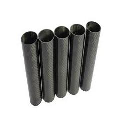 Carbon Fibre Tube (Hollow) 6mm x 4mm x 1000mm - Composites - Xbotics