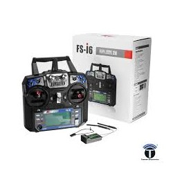 Flysky FS-I6 - 6 Channel Digital transmitter,receiver - Remote - Drone - Xbotics