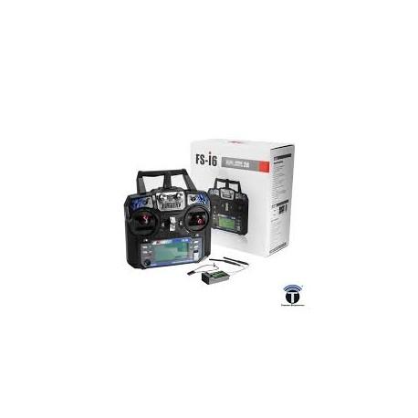 Flysky FS-I6 - 6 Channel Digital transmitter,receiver - Remote - Drone - Xbotics