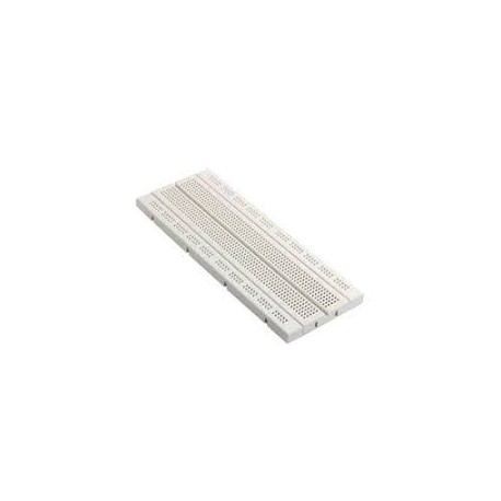 Breadboard 830 Points Rectangular for Solderless Prototyping - Electronic Supplies - Xbotics
