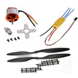Motor, Propeller, ESC Combo (2212 1000kv) - Drone Combos - Xbotics