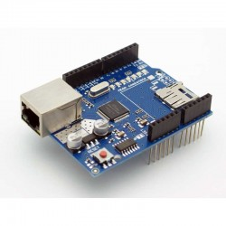 Arduino Ethernet shield - Control Boards - Xbotics