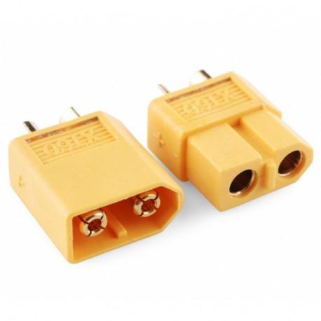 XT60 Battery Connectors one piece - Connectors - Drone - Xbotics