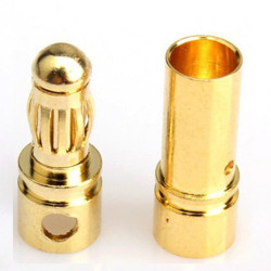 3.5 mm Gold Connector/ Bullet Connector one piece - Connector - Drone - Xbotics