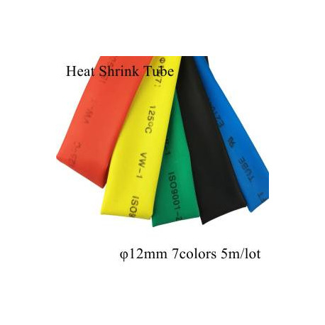 Heat Shrink tubes 12mm (red,yellow,black) 1m per color - Drone - Xbotics