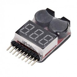 LiPo Battery Voltage Checker - Tool - Xbotics