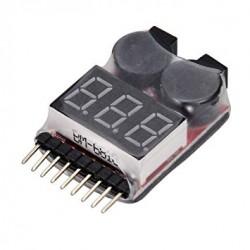 LiPo Battery Voltage Checker - Tool - Xbotics