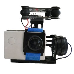 2 Axis FPV camera Gimbal with controller - FPV - Drone - Xbotics