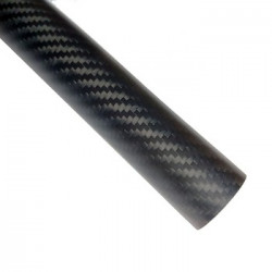 Carbon Fiber Tube(Hollow) 25mm*23mm*500mm for Drones