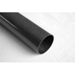 22mm Carbon Fiber Tubes for Drones (500mm)  - Composites - Xbotics