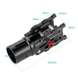 Z30 Folding Arm Mechanism for Drones - 30mm boom  -  Multirotor Parts - Xbotics