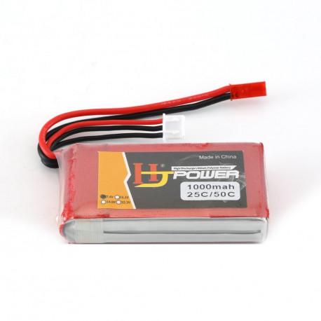 Lipo 7.4v 1000 mah 2s  - Battery - Drone - Xbotics