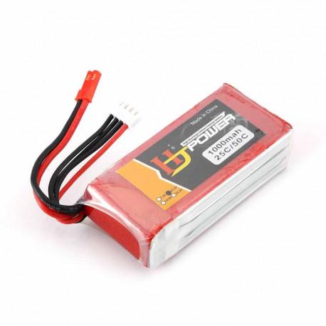 Lipo Battery 11.1v 1000mAh - Battery & Charger - Xbotics