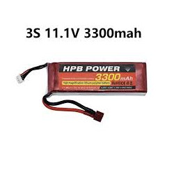 Lipo Battery 11.1v 3300mAh - Battery &Charger - Xbotics
