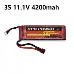 Lipo 11.1v 4200 mah - Battery -  Drone -  Xbotics