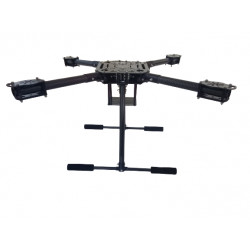 P550 Quadcopter (ZD 550 High Quality Clone Made in India) Frame with Foldable Arm